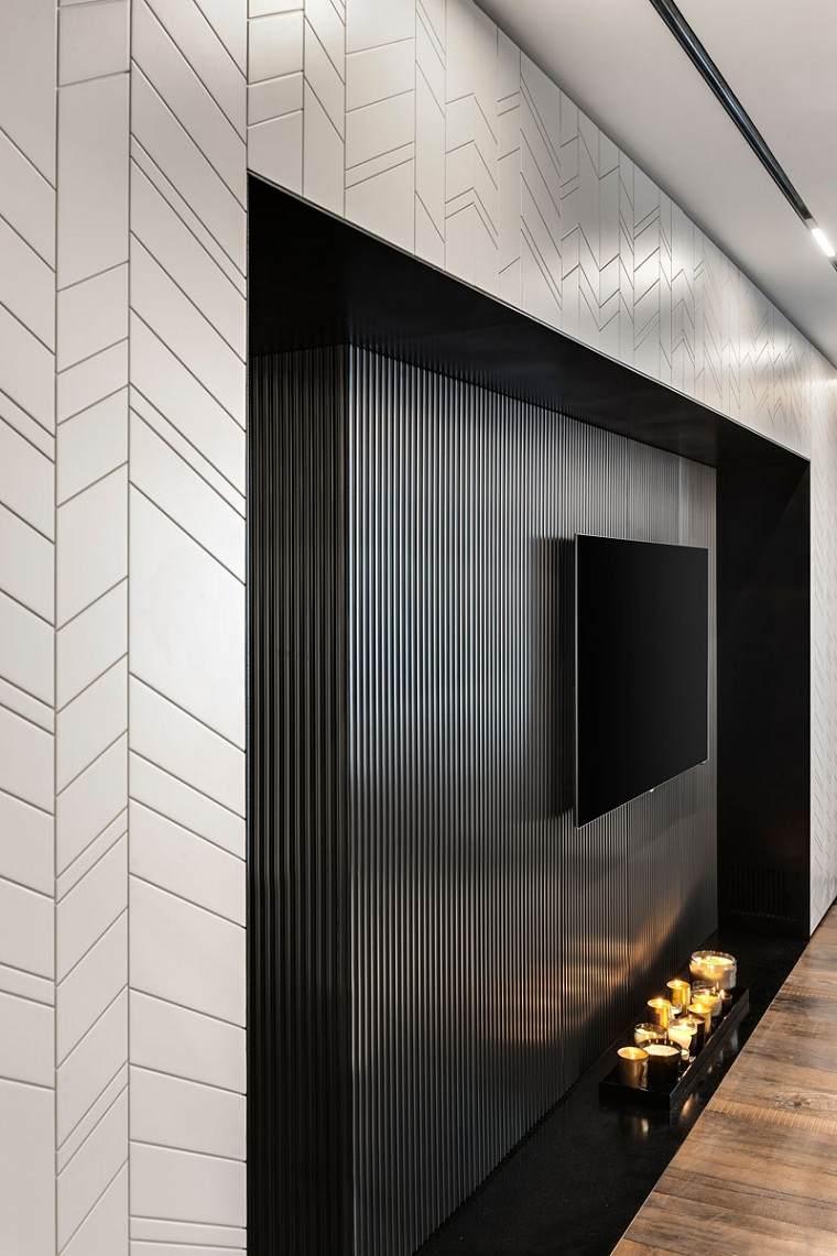 el-diseno-piso-moderno-tel-aviv-ideas-pared