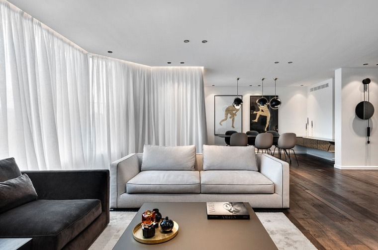 el diseño-piso-moderno-tel-aviv-ideas-sala