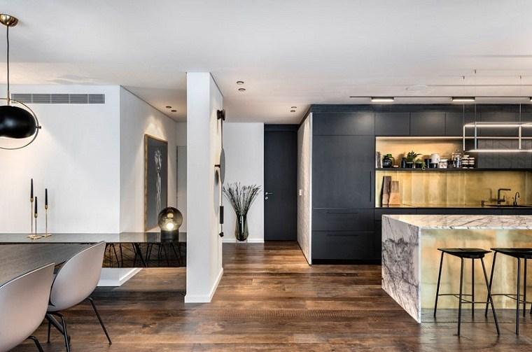 el diseño piso-moderno-tel-aviv-ideas
