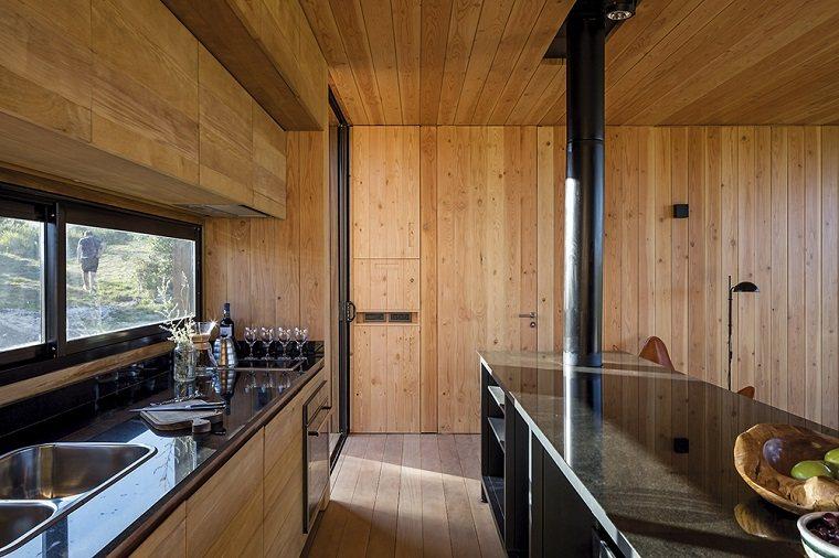 finca interior cocina rustica