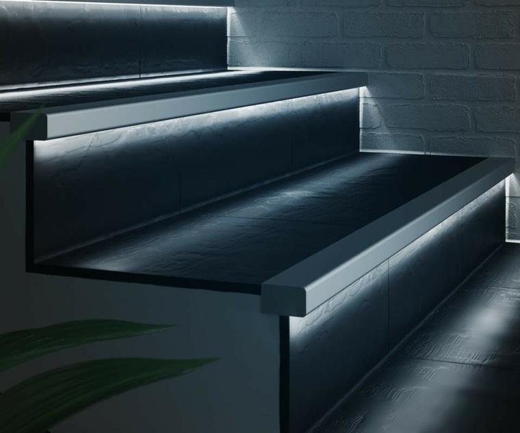 focos led para casa-iluminar-escaleras