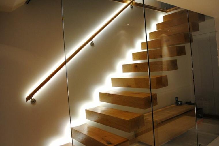 focos led para casa-escaleras