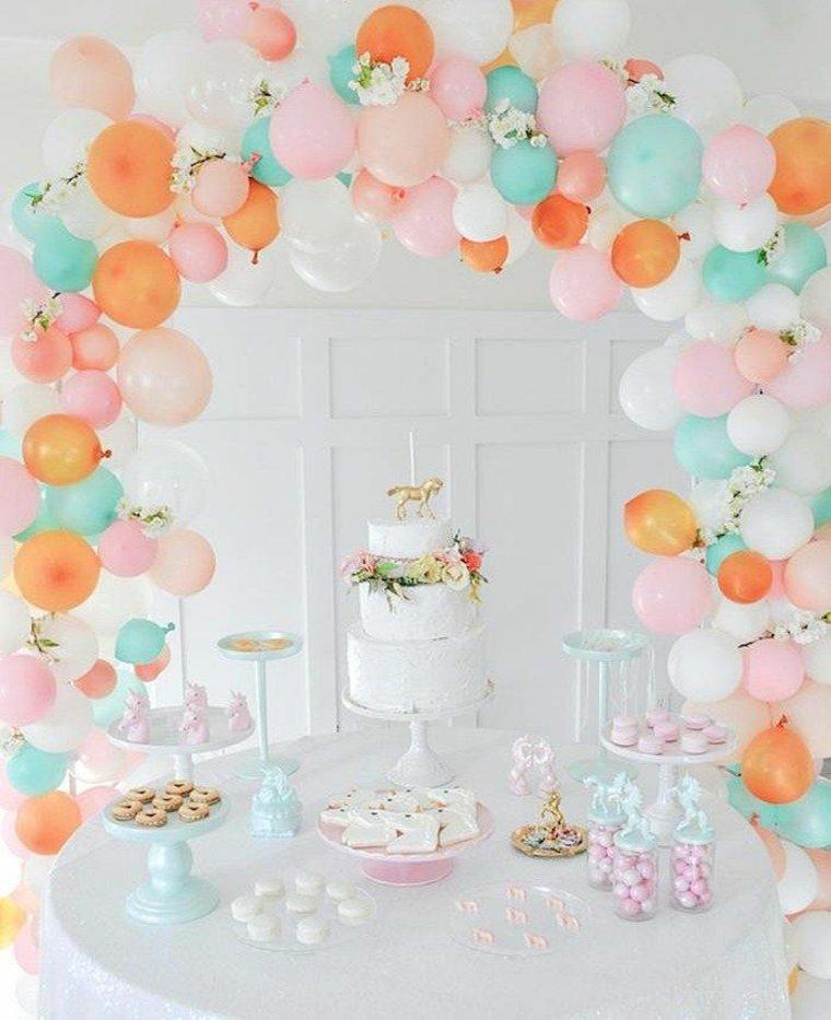 Ideas para la decoracion con globos