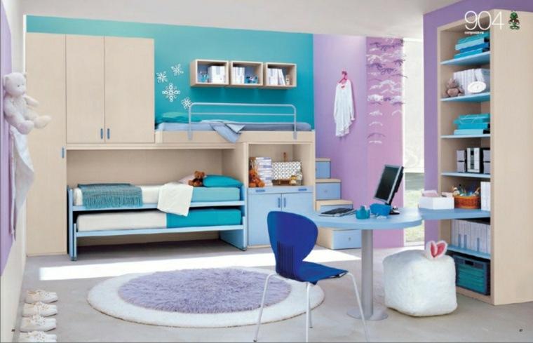 habitaciones-juveniles-color-azul