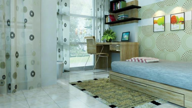 habitaciones-juveniles-decoración