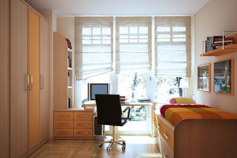 habitaciones juveniles estilo-clasico