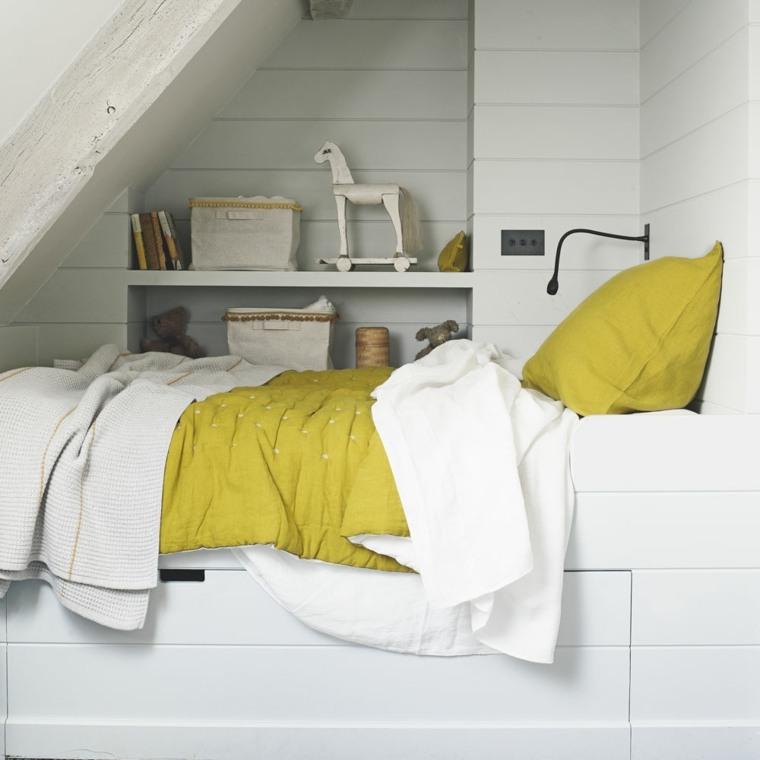 habitaciones juveniles estilo-escandinavo