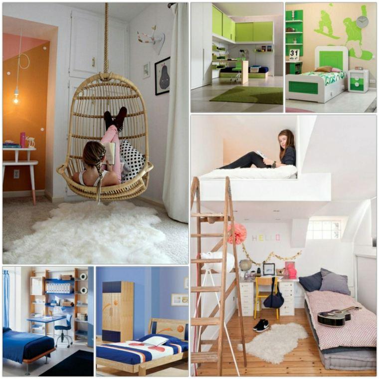 habitaciones juveniles ideas-originales
