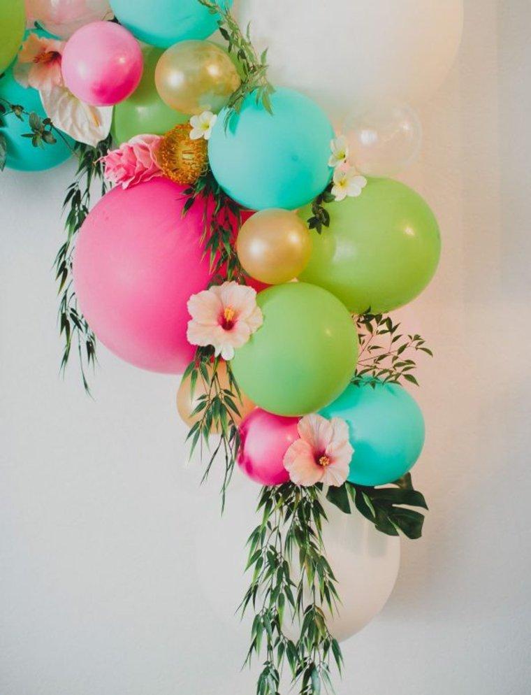 adornar con globos