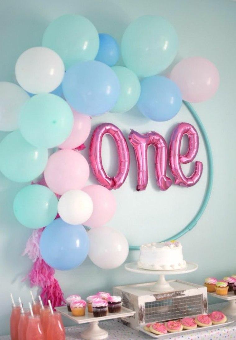 Ideas para la decoracion con globos fiesta
