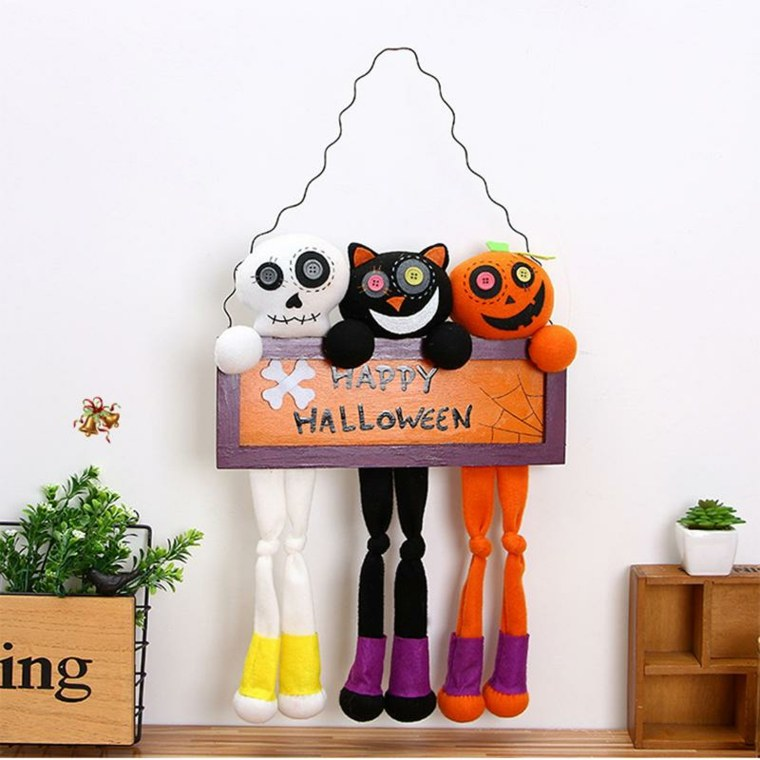 ideas para halloween-decorar-pared