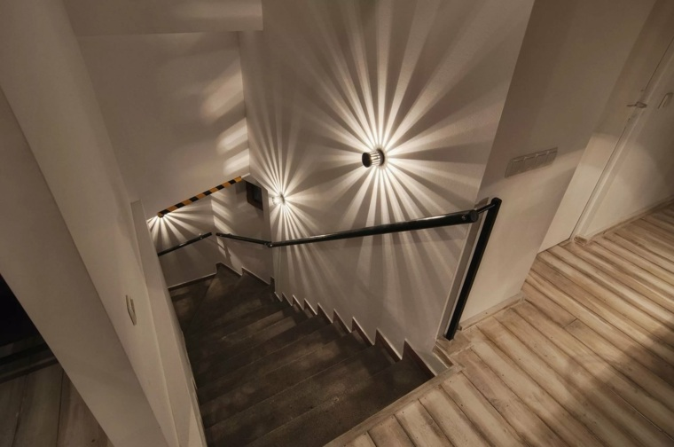 iluminacion de interiores-original-escaleras