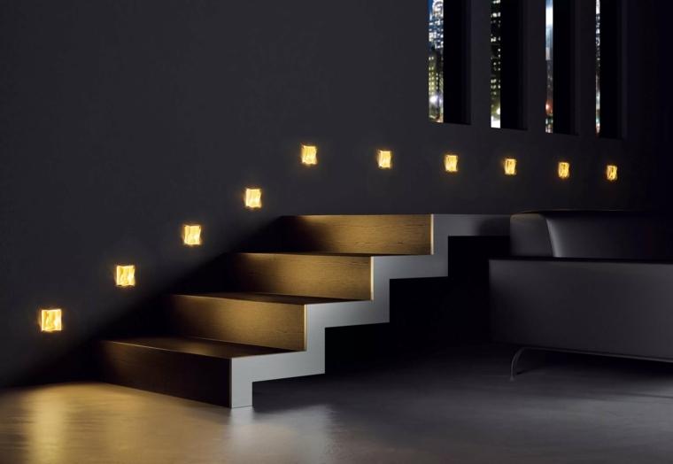 iluminacion exterior-interior-escaleras