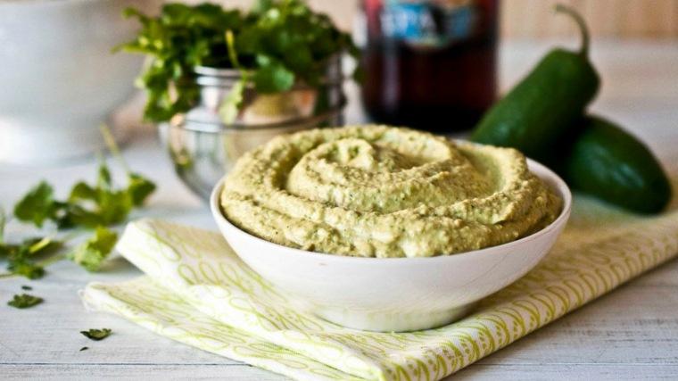 ingredientes para hacer hummus-verduras