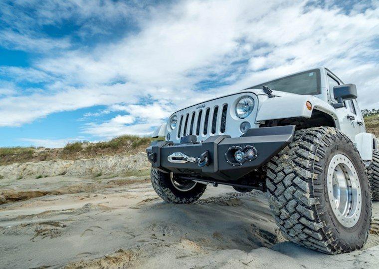 jeep diseño delantera