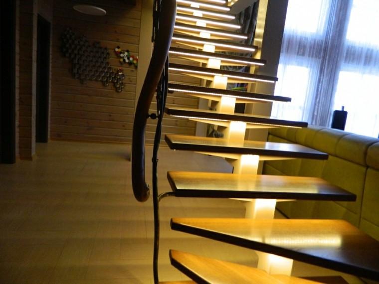 lamparas de piso modernas-escaleras
