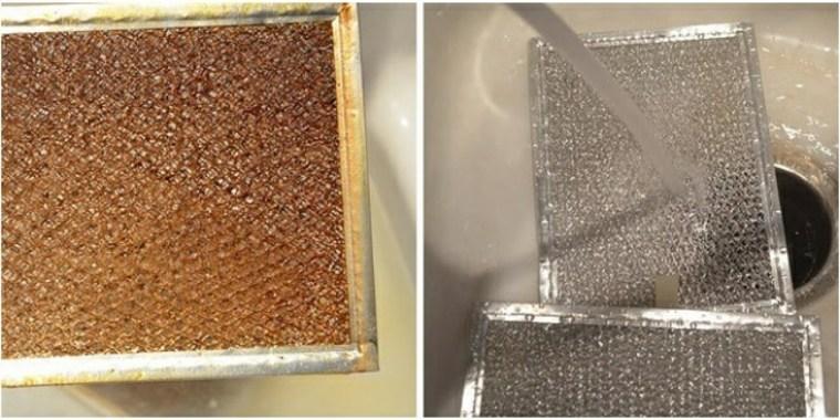 Limpiar los filtros de ventilación
