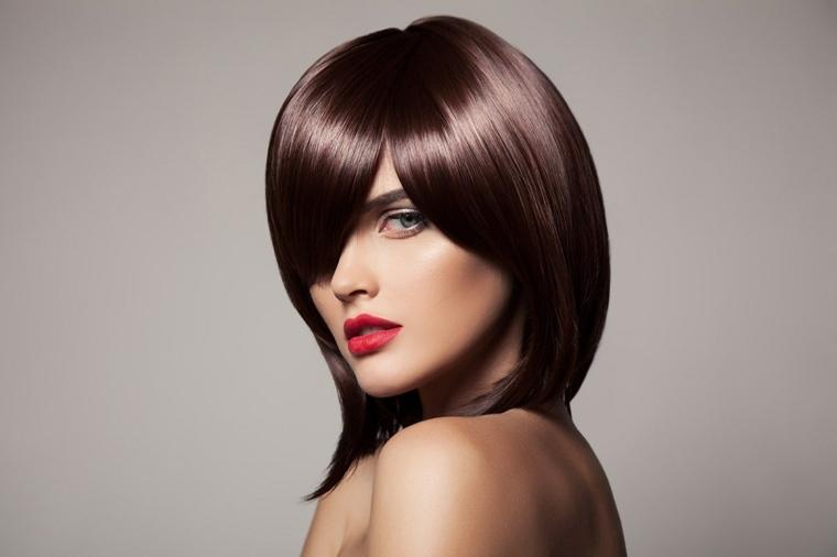 los mejores cortes de cabello-media-melena
