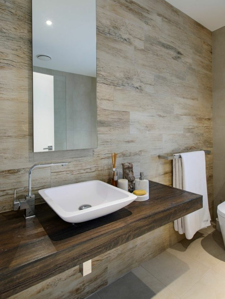 madera-idea-moderna-bano