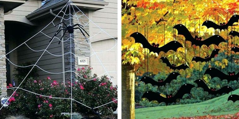 manualidades de halloween-decorar-exterior