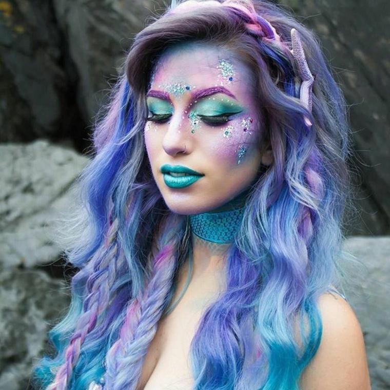Maquillaje De Diabla Para Nina - Como-maquillar-a-una-diabla