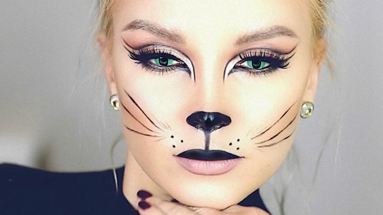 maquillaje de fantasia para halloween-bonito