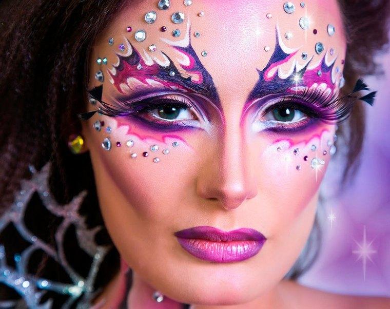 maquillaje de fantasia para halloween-sirenas