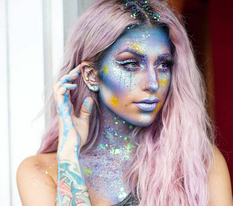 maquillaje zombie-sirena-halloween