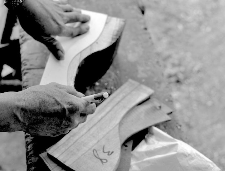 marcando-detalles-suelas-madera