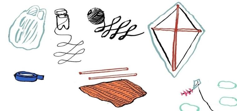 materiales para Hacer tu propia cometa