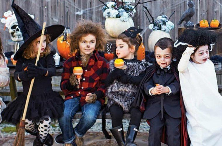 niños-con-disfraces-para-halloween