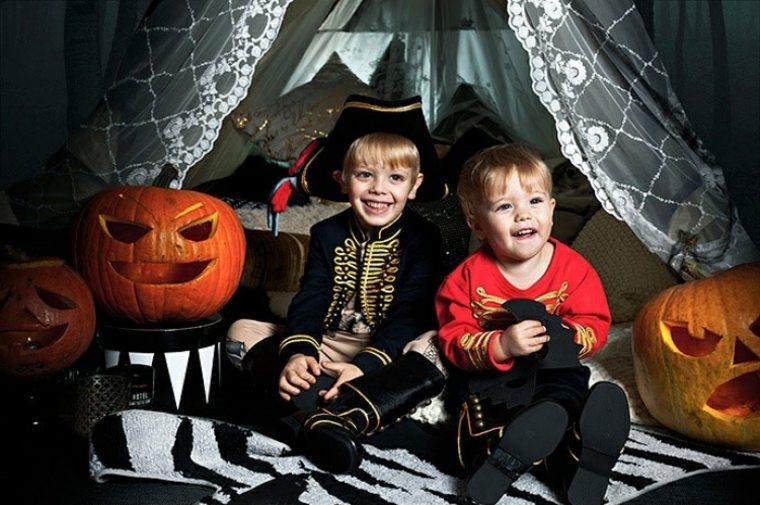 niños-en-halloween