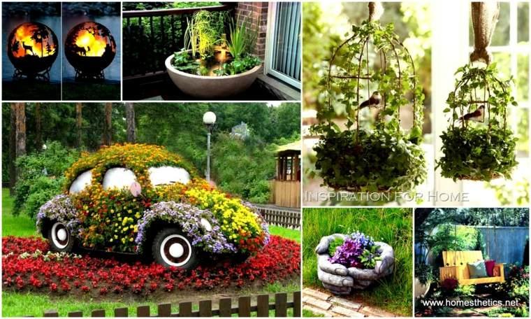 Hermosos proyectos de decoración de jardines