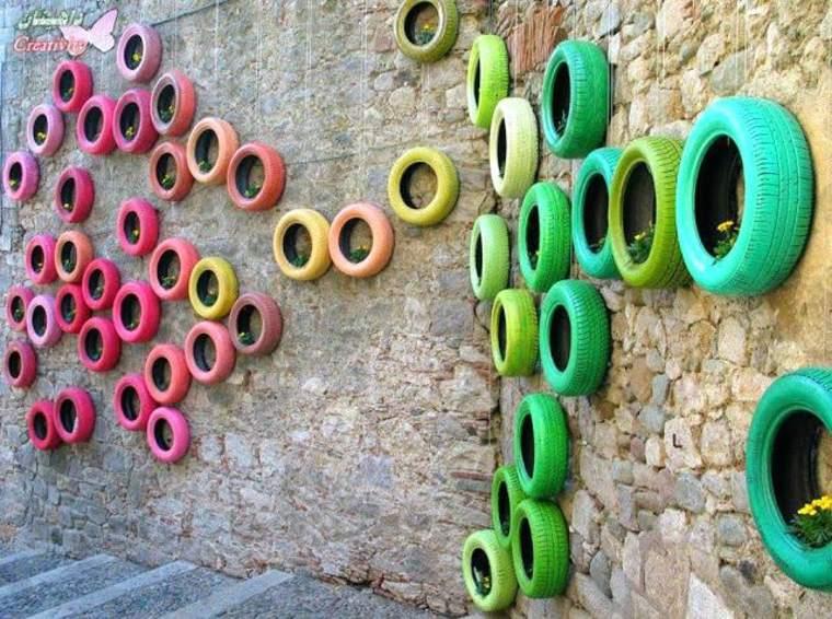 neumáticos decorativos