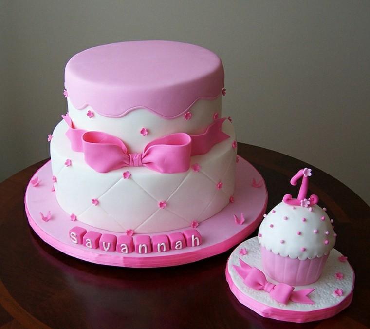 pastel-rosa-blanco-nina-ideas