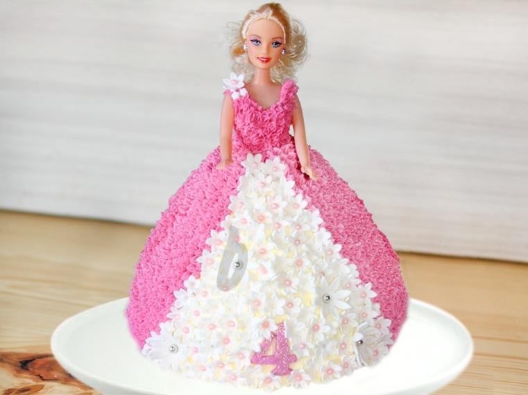 pasteles-de-cumpleanos-para-ninas-princesa-barbie