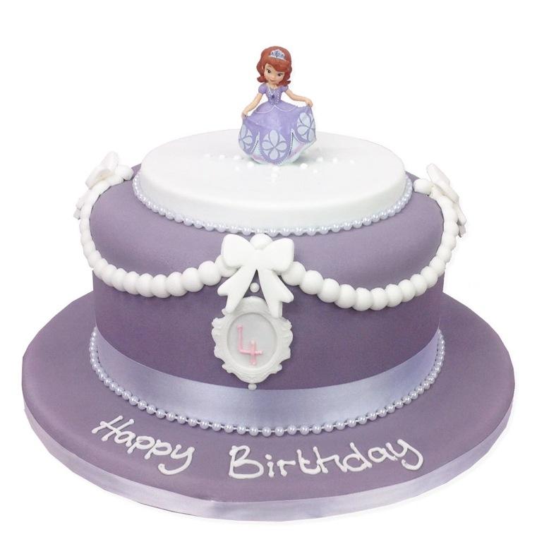 pasteles-de-cumpleanos-para-ninas-princesa-sofia
