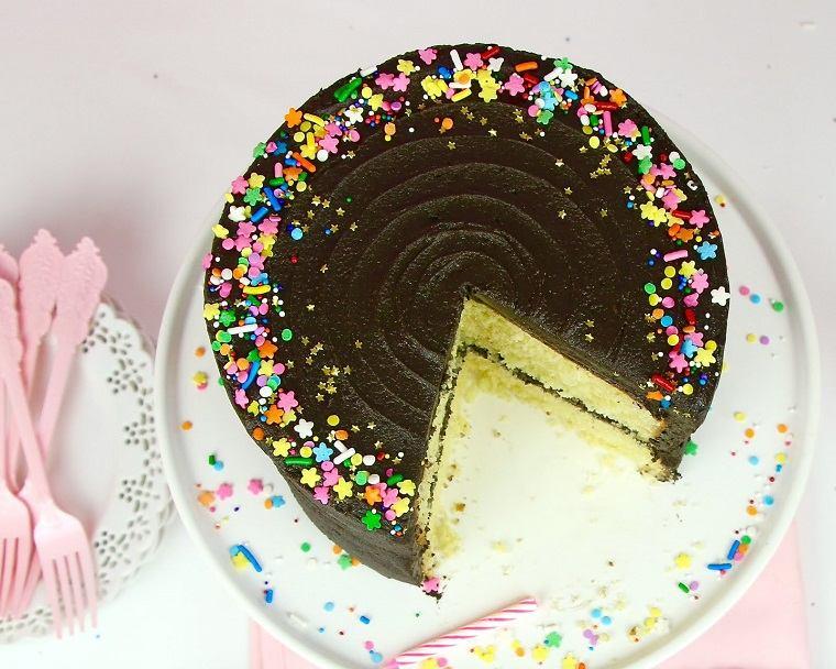 pasteles de cumpleaños para niñas-tarta-chocolate