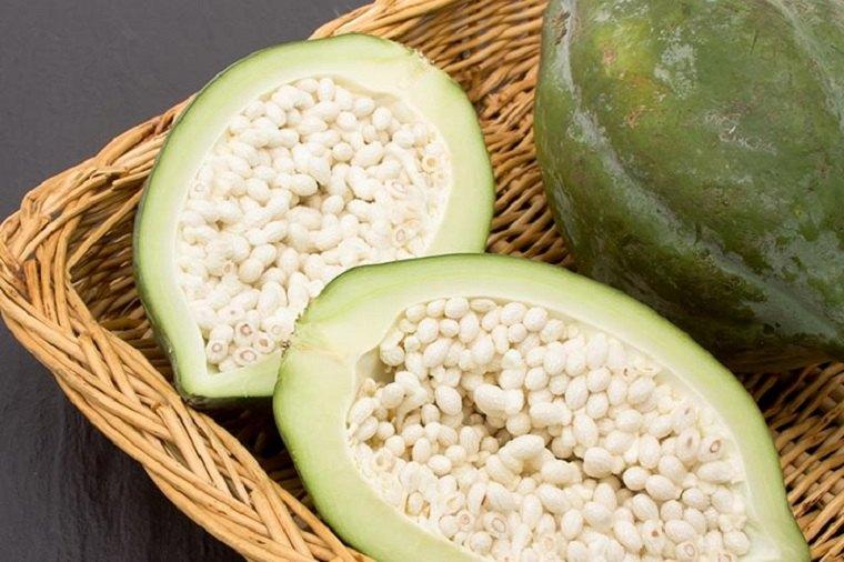 periodo de lactancia-papaya-verde
