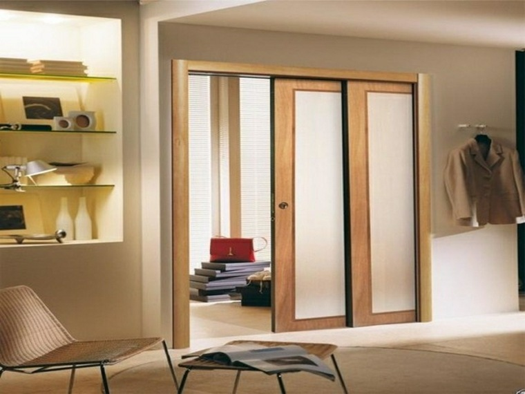 puertas correderas modernas de interior