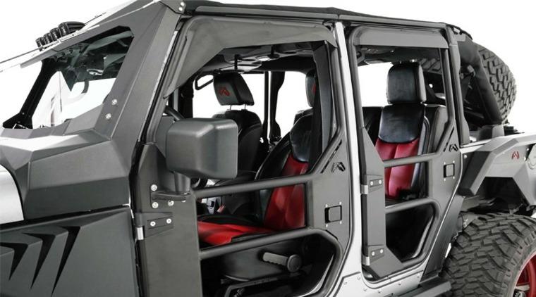 Fab Fours jeep todoterreno puertas