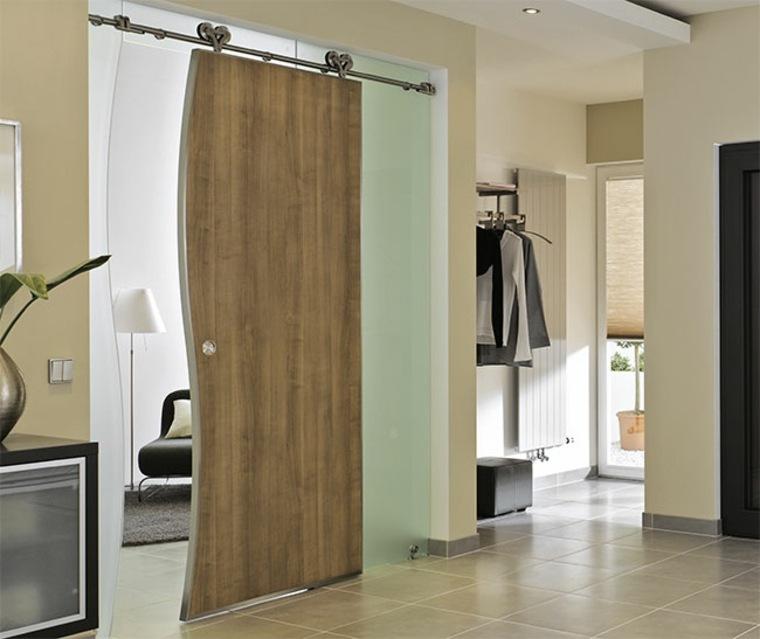 puerta corrediza de baño