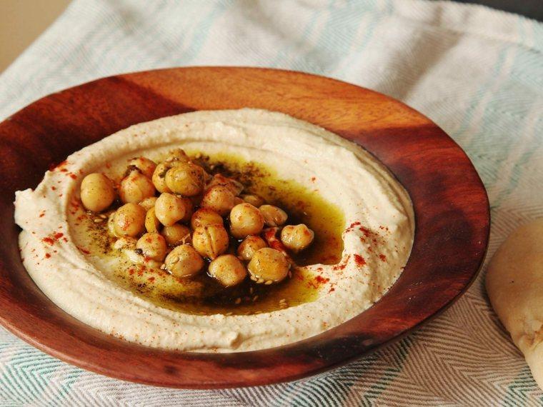 receta de hummus-garbanzos
