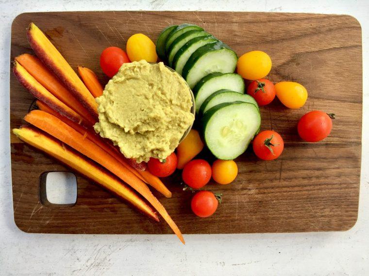 receta de hummus-ingredientes