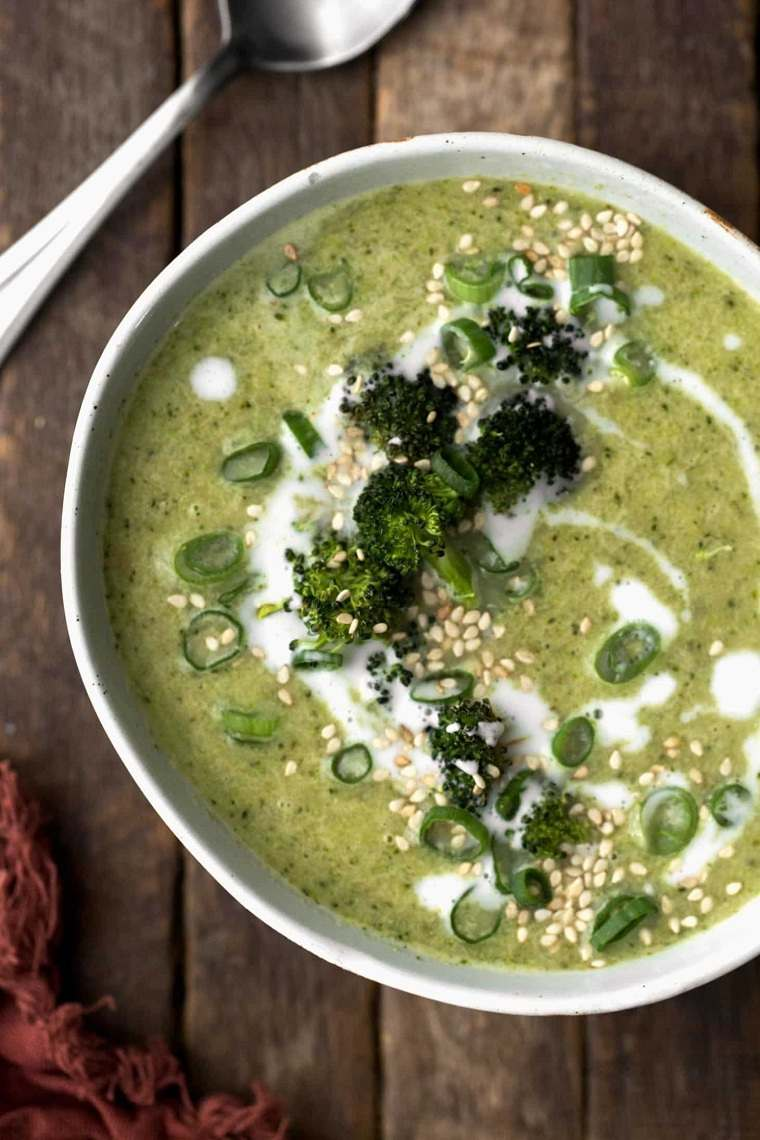 recetas con brócoli-jegibre-limon