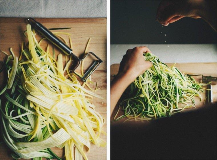 recetas-vegetarianas-faciles-tallarines-calabacin-ideas