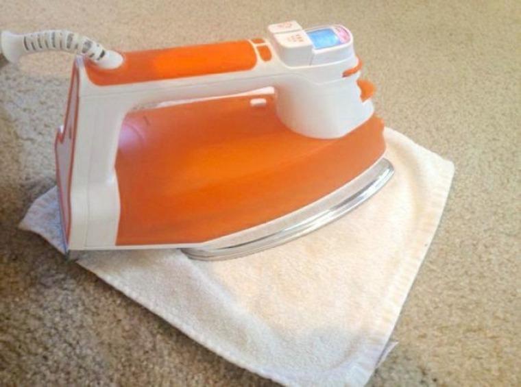 Eliminación de manchas en la alfombra
