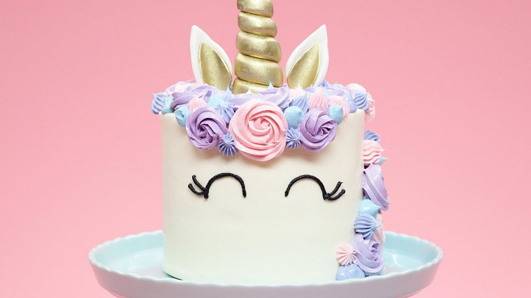 tartas-cumpleanos-unicornio-ideas-decoracion