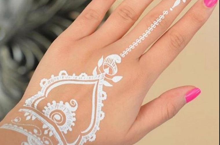 tatuaje-de-henna-blanco