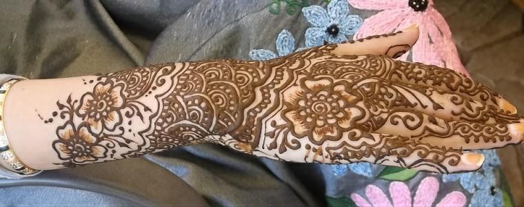 tatuajes temporales diseño-floral